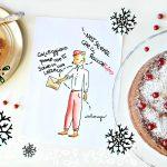 Chiffon cake al cioccolato bianco