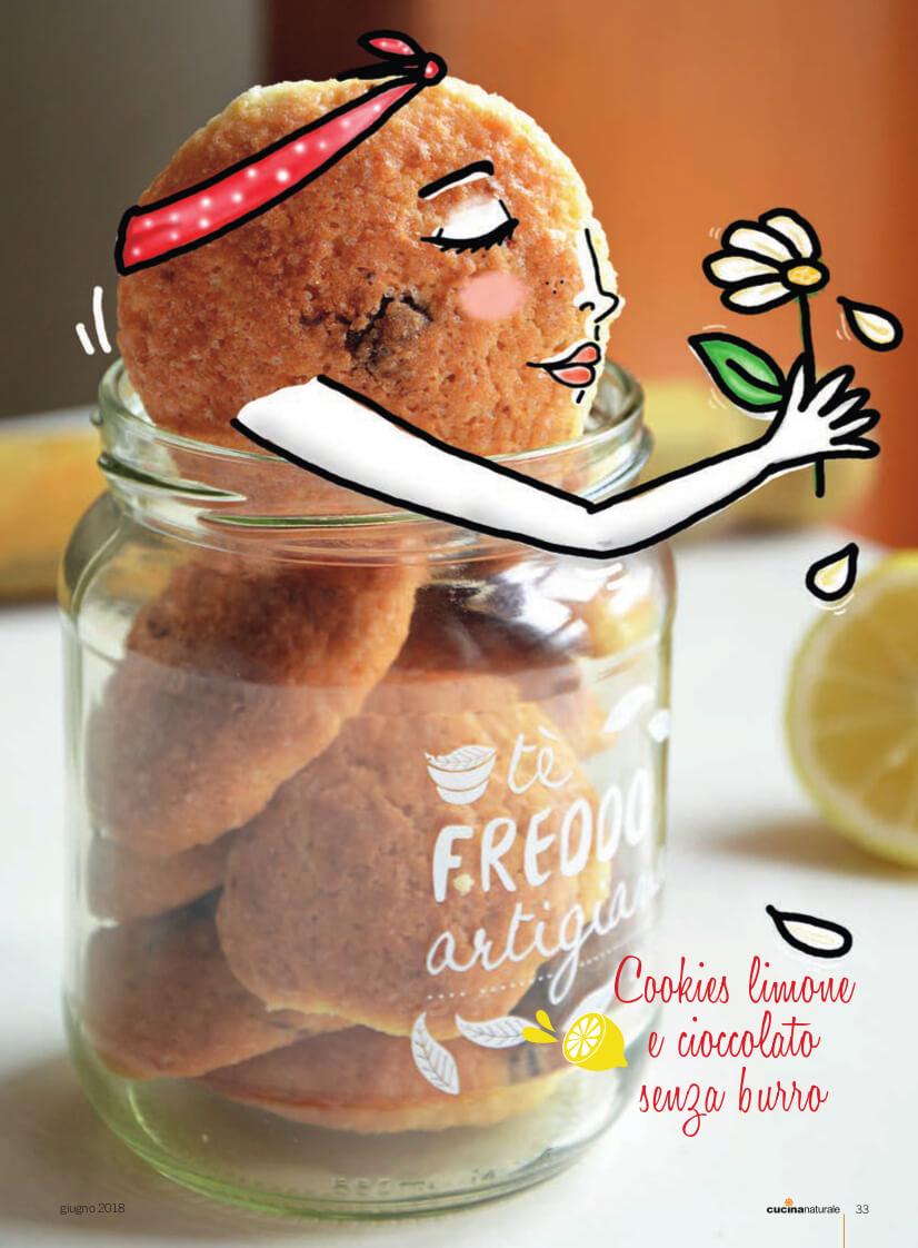 biscotti al limone senza burro