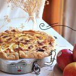 Focaccia di mele croccante SENZA LIEVITO E SENZA BURRO