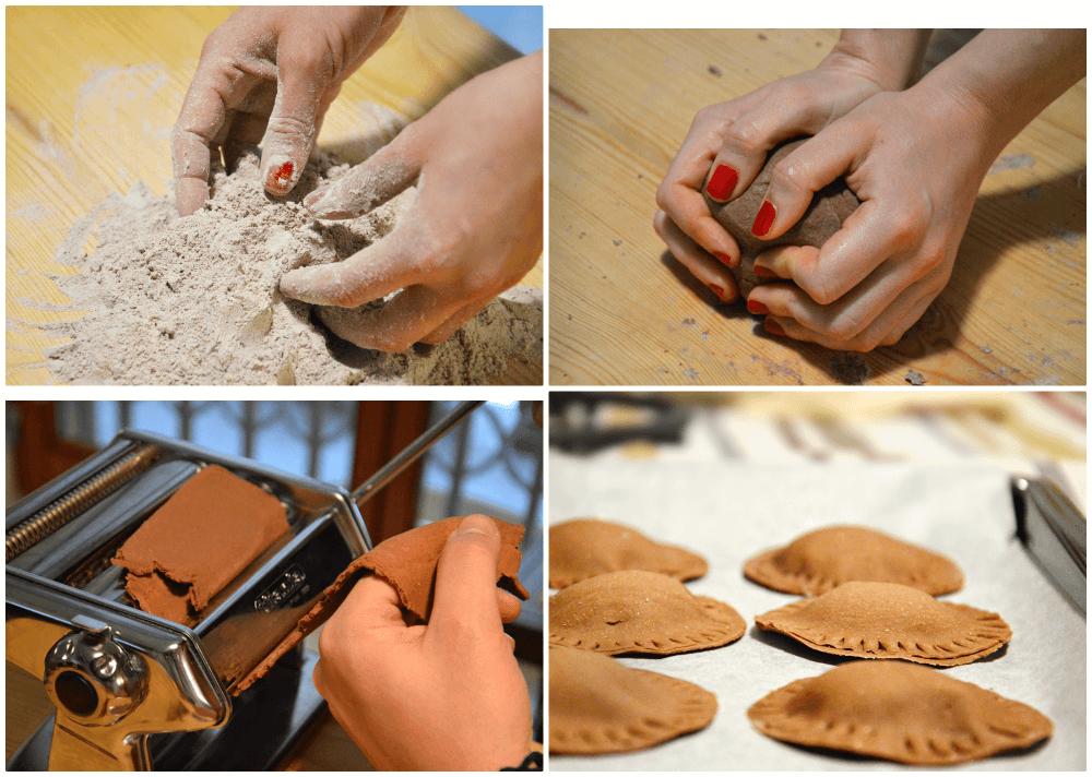 ricetta pasta al cacao