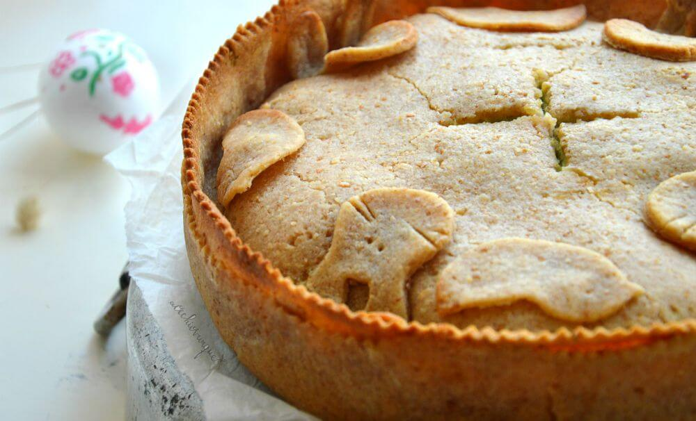 torta pasqualina senza burro ricetta