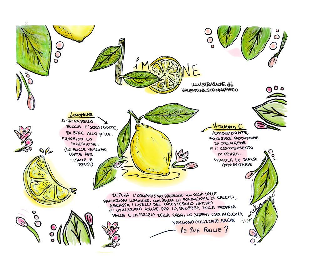 benefici limone Valentina Scannapieco