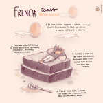 French toast SENZA BURRO