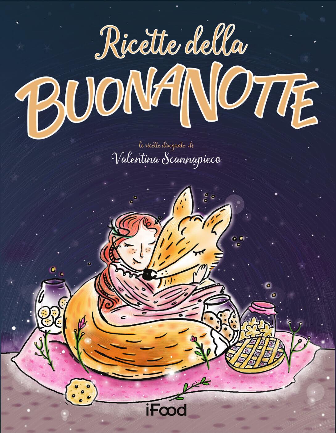 libro ricette della buonanotte Valentina Scannapieco bambini