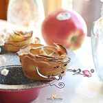 Rose di mela e pasta frolla SENZA burro