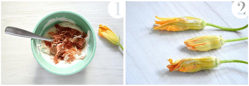 fiori di zucca fritti imbottiti