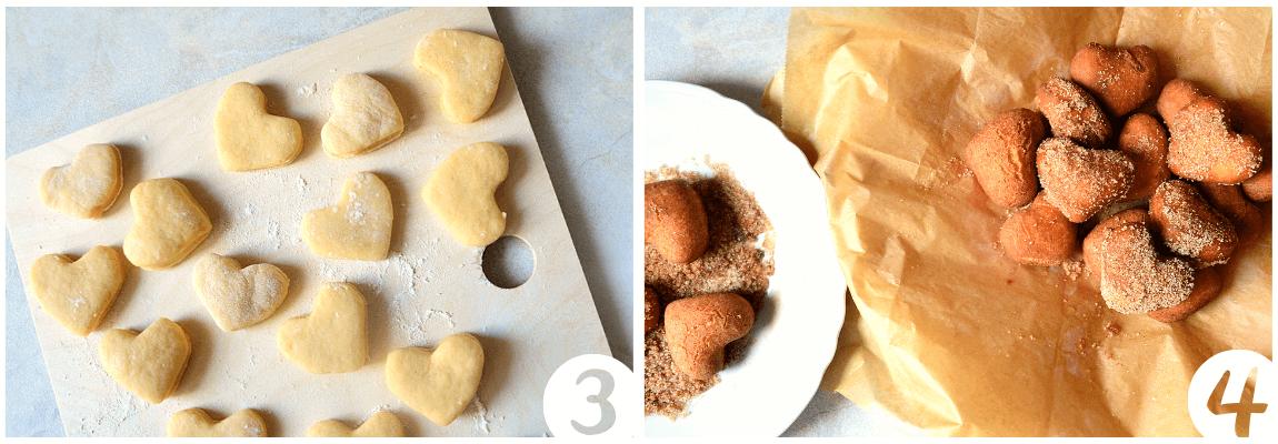 castagnole senza burro frittelle san valentino