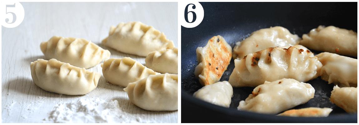 ricetta gyoza in padella ravioli giapponesi