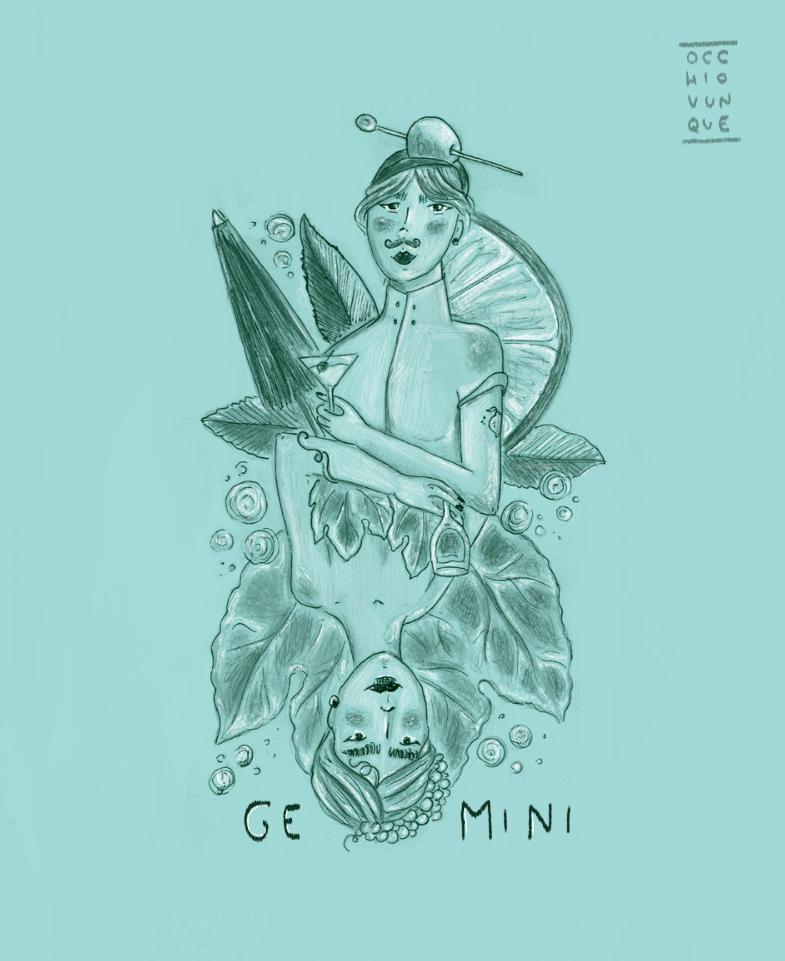 oroscopo gemelli gastronomico occhiovunque tarot girl